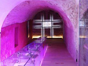 Das Interpretationszentrum Madina Yabisa befindet sich in der früheren Casa de la Cúria (Haus der Kurie).