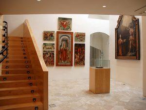Das Innere des Diözesanmuseums der Kathedrale.