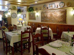 El Cigarral, Restaurant mit traditioneller spanischer Küche