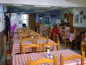 Das traditionelle Restaurant Fonda Can Costa im Stadtviertel La Marina